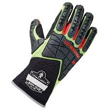 dorsal impact reducing cut resistance gloves ergodyne