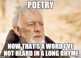 Poetry Meme - obi wan kenobi meme imgflip