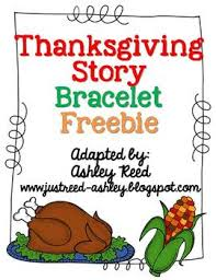 thanksgiving story bracelet freebie by just reed tpt