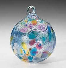 153l glass eye studio ornaments opal confetti glass eye studio