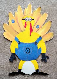 send a turkey for thanksgiving turkey disguise project i am not a turkey i am a minion who