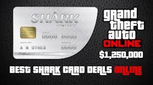 cheap cards cheap deals on gta v online shark cards dealzon