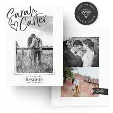 halloween wedding save the date photoshop templates for photographer just drop in your images