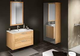 vente de meuble suspendu pour salle de bains cosy en ch礫ne massif
