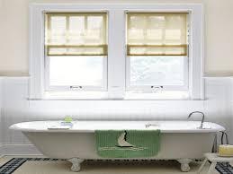 Ideas For Bathroom Window Treatments Window Curtain Ideas For Pinterest Bathroom Window Treatments In