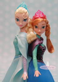 elsa anna double doll cake cakecentral