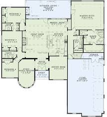 european style house plan 4 beds 3 00 baths 2800 sq ft 51 best house plans images on pinterest european house plans