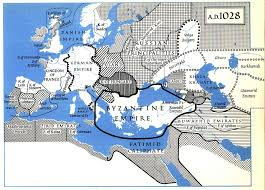Byzantine Empire Map The Penguin Atlas Of Medieval History