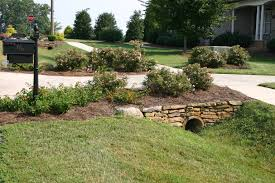 landscaping ideas end driveway field stones and landscaping add a