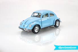 blue volkswagen beetle vintage 1967 volkswagen classical beetle 1 32 scale 5