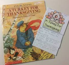 ideas for the week of thanksgiving retelling the story a turkey