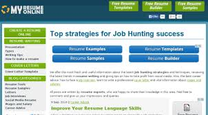 Online Resume Template Free by 11 Best Free Online Resume Builder Sites To Create Resume Cv