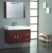 interior minimalist vanity lighting idea feat modern red hanging