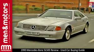 1990 mercedes benz sl500 review used car buying guide youtube