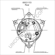 66021153 alternator product details prestolite leece neville