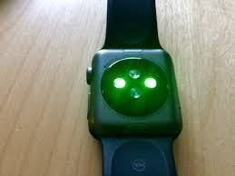 apple watch green light what are the green lights on the back of an apple watch how is an