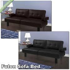 mainstays sofa sleeper mainstays faux leather sofa beds ebay