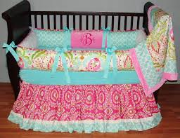 girls pink and green bedding baby bedding for nursery images about ba crib baby