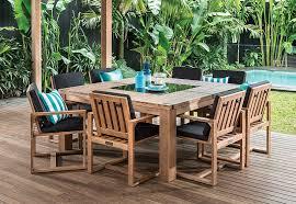 Outdoor Furniture Joondalup - shadow2 9 piece outdoor setting amart furniture