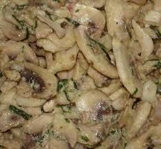 cuisiner cepes frais recette salade de chignons de à la moutarde et au