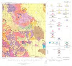 Yosemite Topo Map Sierra Nevada Region 1 62 500 Quadrangles