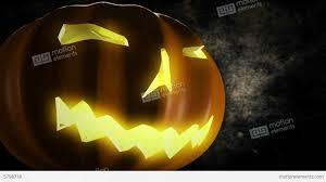Pumpkin Horror Halloween Text 3d Animation 4k Uhd Stock Animation