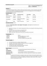 4 Years Experience Resume 100 Java J2ee Resume Sample French Imparfait Essayer Finding A