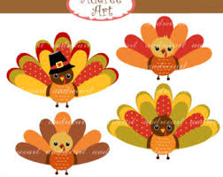 turkey clip thanksgiving clip digital