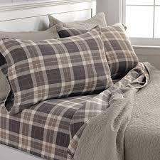 Duvet And Sheet Set Woodland Plaid Flannel Sheets Woodland Plaid Flannel Sheet Set