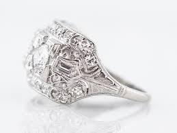 right ring antique right ring deco 48 brilliant cut diamond