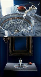 Moroccan Bathroom Vanity by Love This Incredible Mosaic Moroccan Style Bathroom Sink Love