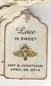wedding wish tags 50 vintage is sweet bee wedding favor tags wedding wish