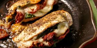 best caprese stuffed chicken recipe how to make caprese stuffed