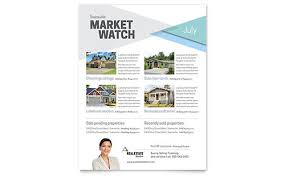 real estate flyer examples real estate flyer templates word u0026 publisher