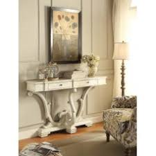 Antique White Console Table Console Tables