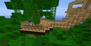 minecraft jungle treehouse design google search minecraft