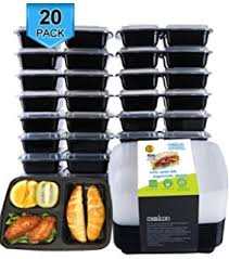 amazon com 21 day portion control containers 7 piece colored