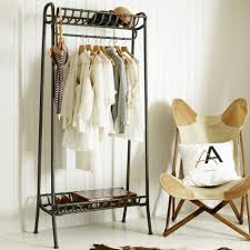 arnie black metal clothes rail buy now at habitat uk also metal