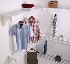 amazon com ez shelf ezs k scrw72 5 4 walk in closet kit hanging