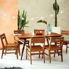 west elm mid century dining table mid century dining furniture extremely creative mid century outdoor