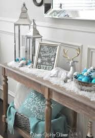 My Home Decoration My White And Silver Christmas Decoration Home White Home Blog