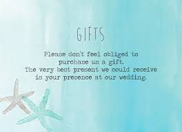 Wedding Gift Card Tropical Watercolour Starfish Wedding Gift Card From 0 40 Each