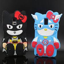 arrival kitty batman captain american design 3d silicone
