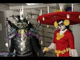 La Muerte Costume La Muerte And Xibalba Cosplay Youtube