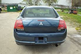 mitsubishi sedan 2004 2005 mitsubishi galant es blue sedan used car sale