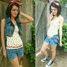 Amado Samara Even - Customizado Colete Jeans, Marisa Blusa Tomara Que  @FA12