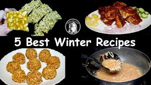 best winter recipes 5 best winter recipes by kitchen with amna youtube