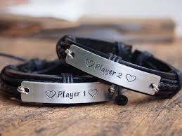 Customized Engraved Bracelets Couples Bracelet Matching Couple Bracelets Custom Bracelets For