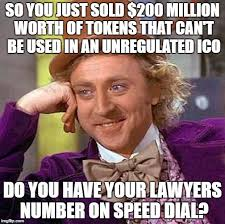 First Meme Ever - let the ico memes begin the first initial coin offering memes