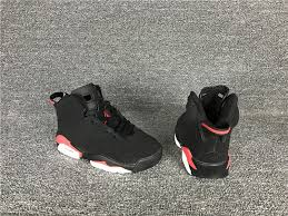 kid jordans 2017 kids air 6 black infrared jordans 2017